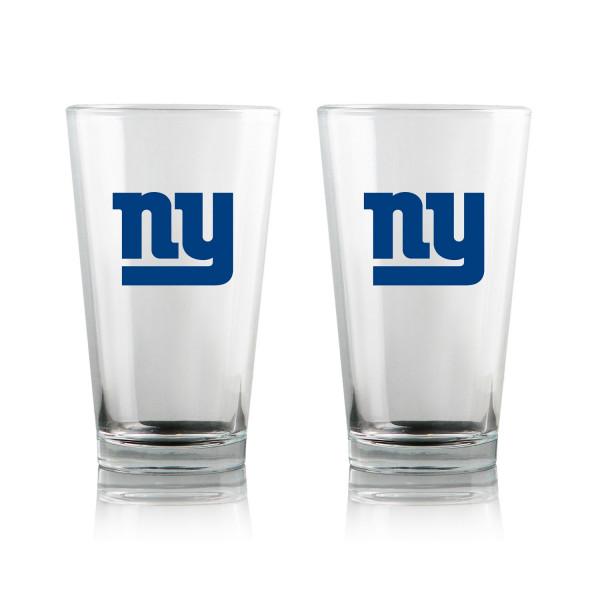 New York Giants Highball NFL Pint Glas Set (2 Stk.)