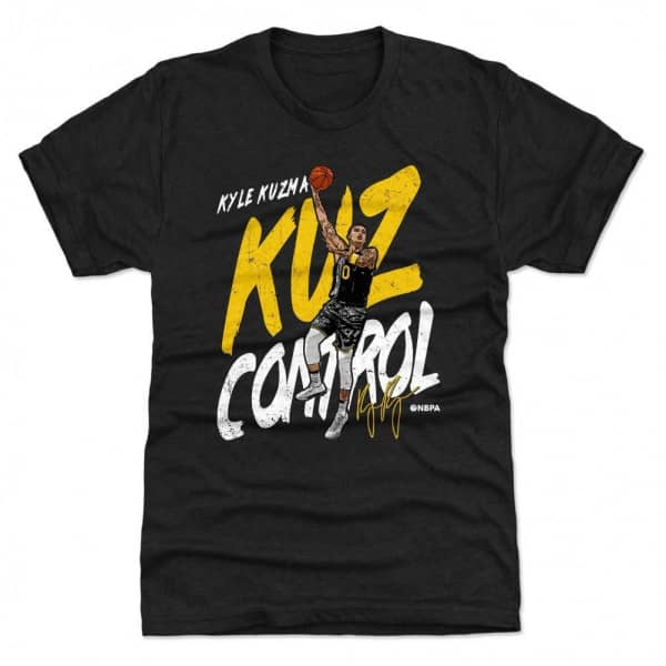 Kyle Kuzma Los Angeles Kuz Control NBA T-Shirt