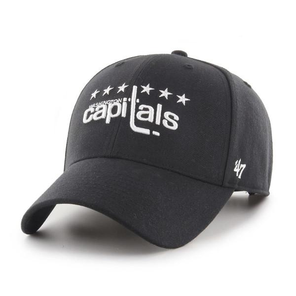 Washington Capitals Black & White MVP Snapback NHL Cap
