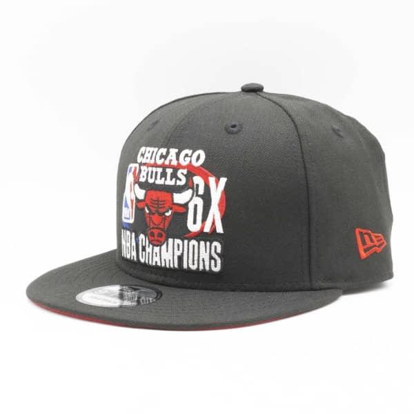 Chicago Bulls 6-Time NBA Champions New Era 9FIFTY Snapback Cap