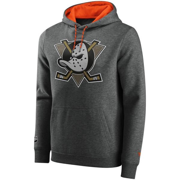 Anaheim Ducks BTB Mesh Logo Fanatics Iconic NHL Hoodie