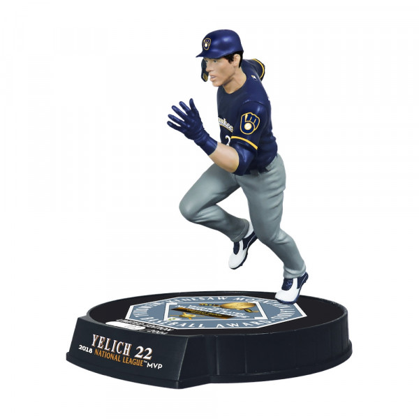 Christian Yelich Milwaukee Brewers 2018 NL MVP MLB Action Figur