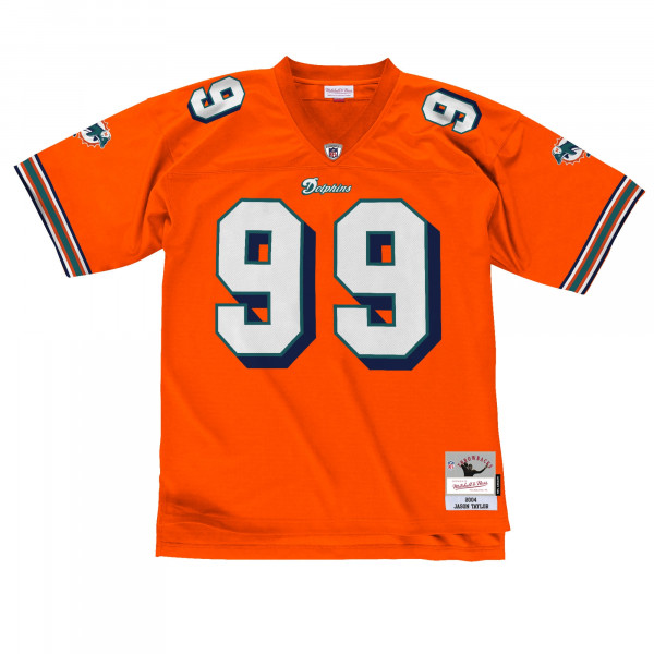 Jason Taylor #99 Miami Dolphins Legacy Throwback NFL Trikot Orange