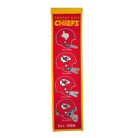 Kansas City Chiefs NFL Premium Heritage Banner
