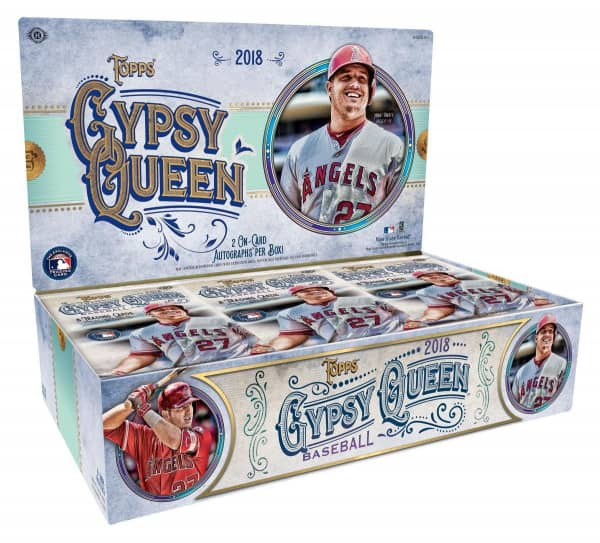 2018 Topps Gypsy Queen Baseball Hobby Box MLB