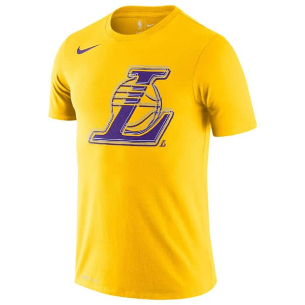 Los Angeles Lakers 2020 Bold Logo Nike Dri-FIT NBA T-Shirt