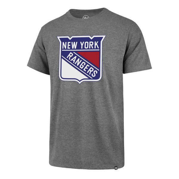 New York Rangers Splitter NHL T-Shirt Grau