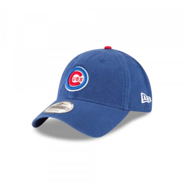quality design 148d5 bb9a5 New Era Chicago Cubs Core Classic Team Logo 9TWENTY Adjustable MLB Cap    TAASS.com Fan Shop