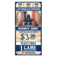 Los Angeles Dodgers MLB Ticket Schild