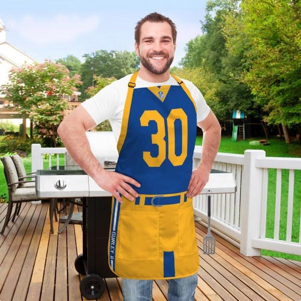 Todd Gurley #30 Los Angeles Rams NFL Spielerschürze