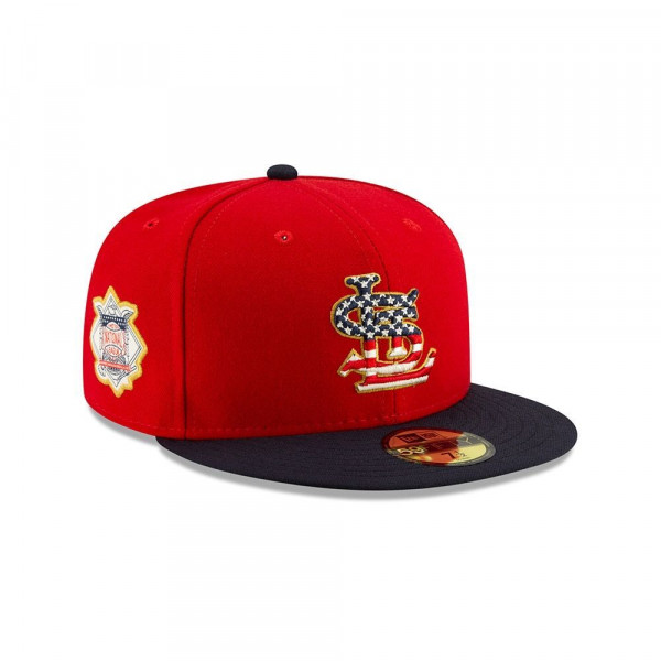 St. Louis Cardinals 4th of July 2019 59FIFTY Fitted MLB Cap