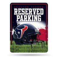 Houston Texans Reserved Parking NFL Metallschild