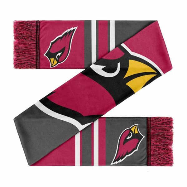 Arizona Cardinals Colorblock Big Logo NFL Schal