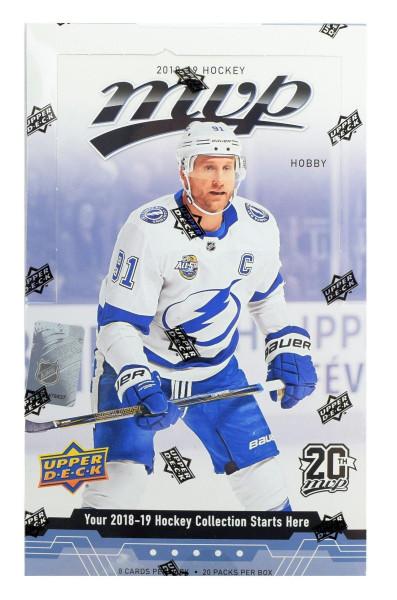 2018/19 Upper Deck MVP Hockey Hobby Box NHL