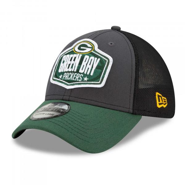 Green Bay Packers Official 2021 NFL Draft New Era 39THIRTY Flex Fit Cap