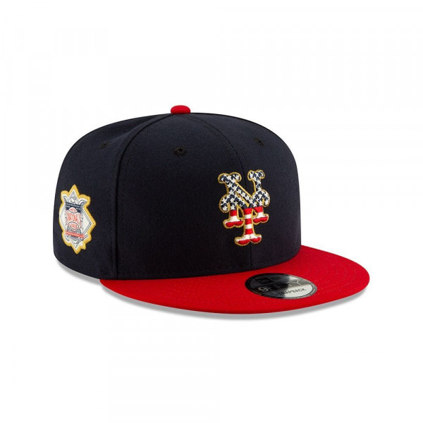 9a27e8dba52fd9 New Era New York Mets 4th of July 2019 MLB 9FIFTY Snapback Cap | TAASS.com  Fan Shop