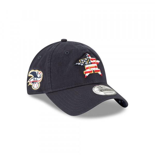 size 40 e5409 3c6a2 Houston Astros 4th of July 2018 9TWENTY Adjustable MLB Cap