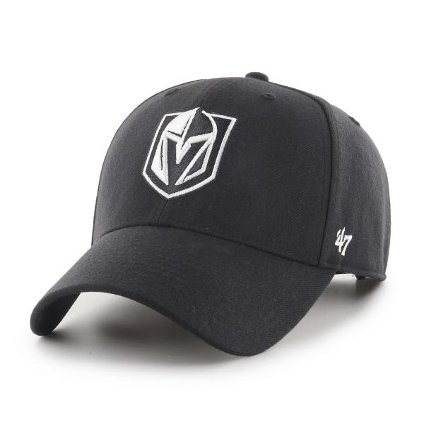 Vegas Golden Knights '47 MVP Snapback NHL Cap Schwarz
