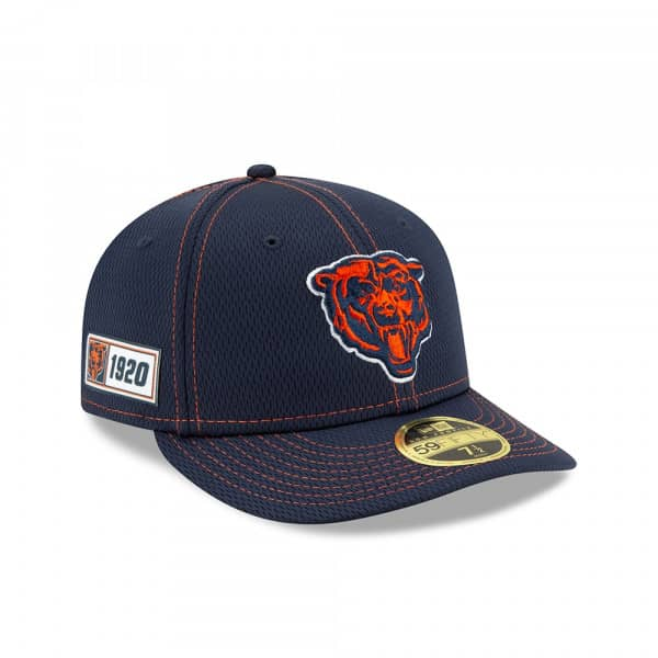 Chicago Bears Classic 2019 NFL On-Field Sideline Low Profile 59FIFTY Cap Road