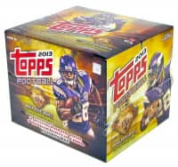 2013 Topps Football Jumbo Box NFL