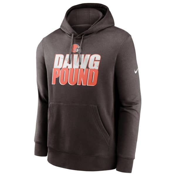 Cleveland Browns 2020 NFL Local Nike Club Fleece Hoodie