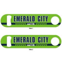 Seattle Seahawks Emerald City WinCraft Metall NFL Flaschenöffner