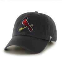St. Louis Cardinals '47 Clean Up Adjustable MLB Cap Alternate Navy