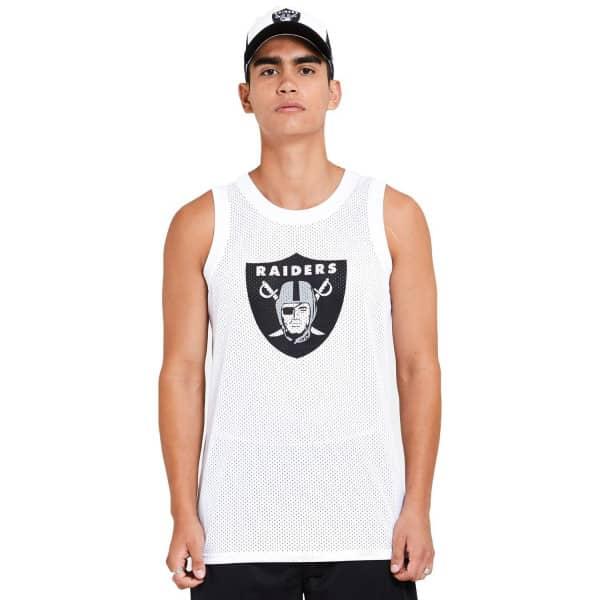 Las Vegas Raiders New Era Mesh Logo NFL Tank Top