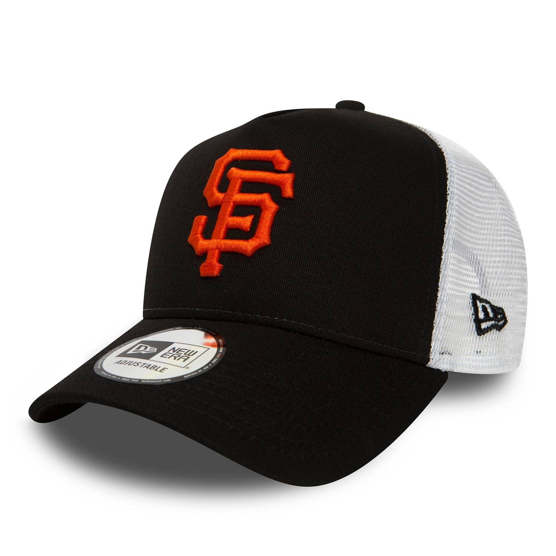 check out b4584 7725f New Era San Francisco Giants Team Essential Trucker Adjustable MLB Cap  Black   TAASS.com Fan Shop