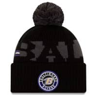 Baltimore Ravens Official 2020 NFL Sideline New Era Sport Knit Wintermütze