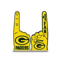Green Bay Packers #1 Fan NFL Foam Finger