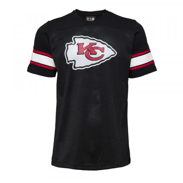 Kansas City Chiefs V-Neck New Era Oversized Mesh NFL Fantrikot