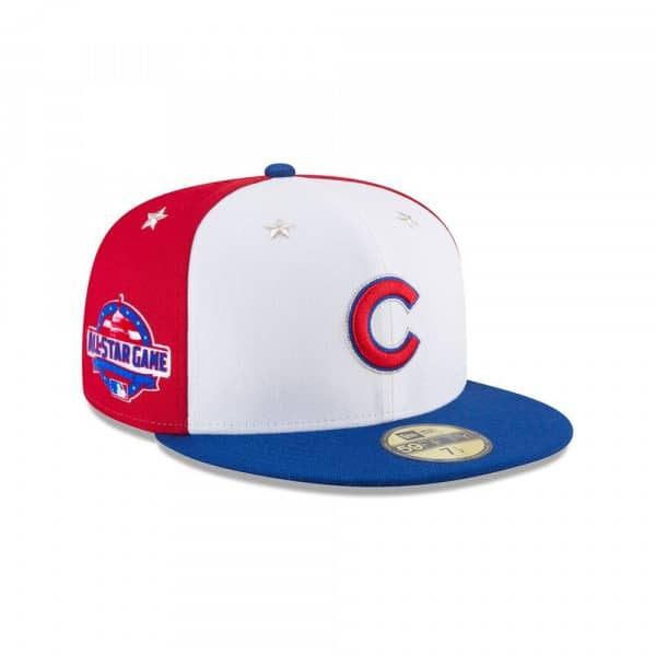 acf84bbd Chicago Cubs 2018 All Star Game 59FIFTY Fitted MLB Cap