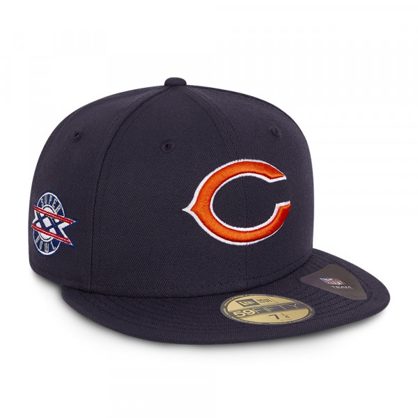 Chicago Bears Super Bowl XX New Era 59FIFTY Fitted NFL Cap Navy