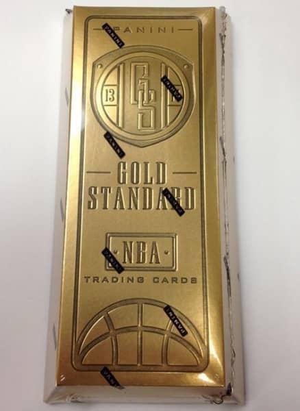 2013/14 Panini Gold Standard Basketball Hobby Box NBA